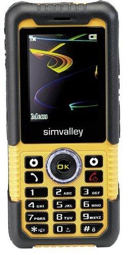 Apogee XT-710 Outdoor-Handy (wasserdicht IPX4, stoßfest) schwarz-gelb