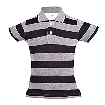88aaf49fb82 Gkidz Birds-Eye Half sleeve Polo T-shirt for Boys  Amazon.in  Clothing    Accessories