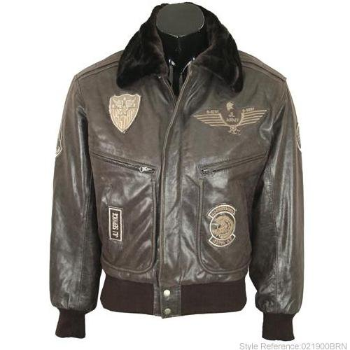 Mens Brown Real Leather