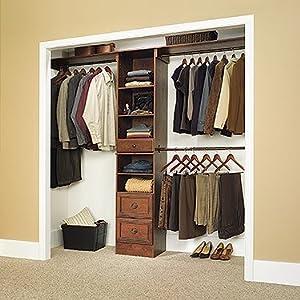 sauder 409802 lancaster closet in a box