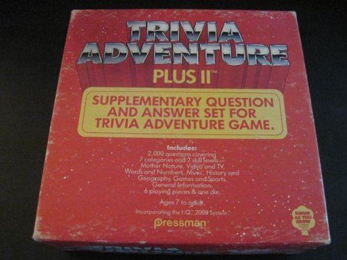 Trivia Adventure Plus II