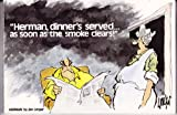 Herman, Dinner's Served...As Soon As the Smoke Clears! (0836220684) by Unger, Jim