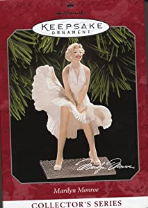 Hallmark Keepsake Ornament Marilyn Monroe Collector's Series