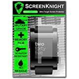 ScreenKnight® Pebble Watch Invisible Shield Screen Protector