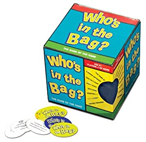 Whos In The Bag by Paul Lamond Games