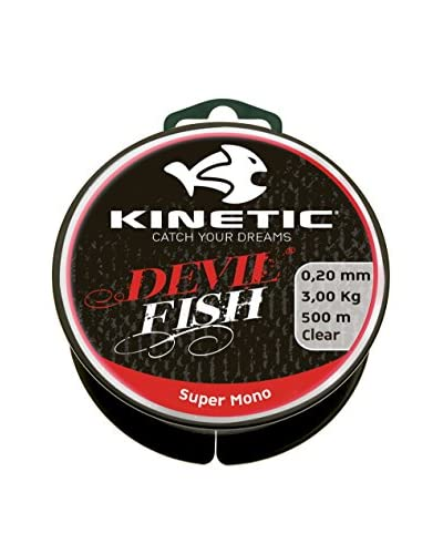Kinetic Filo Da Pesca Super Mono 0,45 mm Natural