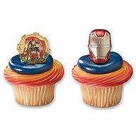 DecoPac Cupcake Rings, Iron Man 3, Tw…