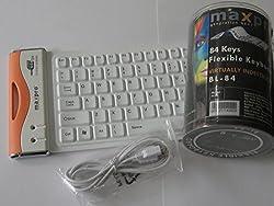 Maxpro Flexible Keyboard BL-84