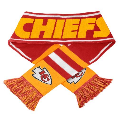 Buy 2013 NFL Football Team Logo Wordmark Scarf (Kansas City Chiefs)