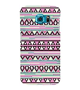 Abstract Diamond Pattern 3D Hard Polycarbonate Designer Back Case Cover for Samsung Galaxy S6 Edge :: Samsung Galaxy Edge G925