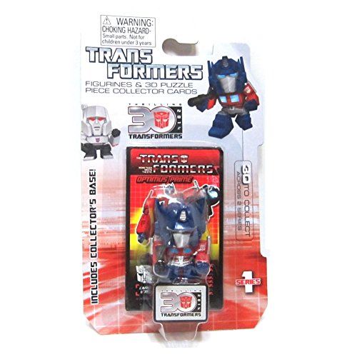 Optimus Prime Transformers G1 30th Anniversary 1.5 Inch Series 1 Mini Figure