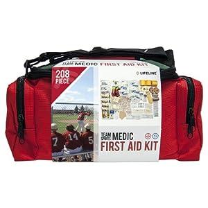 Lifeline Team Sports Medic First Aid Kit - 207 Pieces by Lifeline