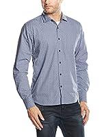SIDECAR Camisa Hombre Cacique (Azul)
