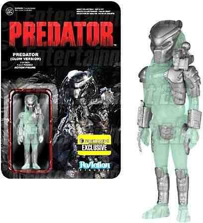 "Funko Predator ReAction Predator 3 3/4"" Action Figure [Glow Version]"