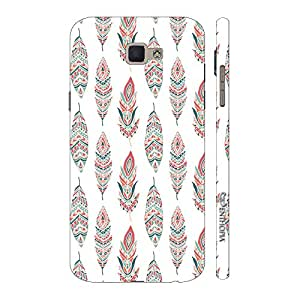 Enthopia Designer Hardshell Case Feather Touch Back Cover for Samsung Galaxy On5