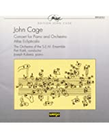 John Cage: Concert For Piano & Orchestra / Atlas Eclipticalis