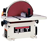 JET 708433 JDS-12B 1-Horsepower 12-Inch Benchtop Disc Sander with Circle Jig and Miter Gauge, 115/230-Volt 1-Phase from JET