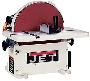 JET 708433 JDS-12B 1-Horsepower 12-Inch Benchtop Disc Sander with Circle Jig and Miter Gauge, 115/230-Volt 1-Phase