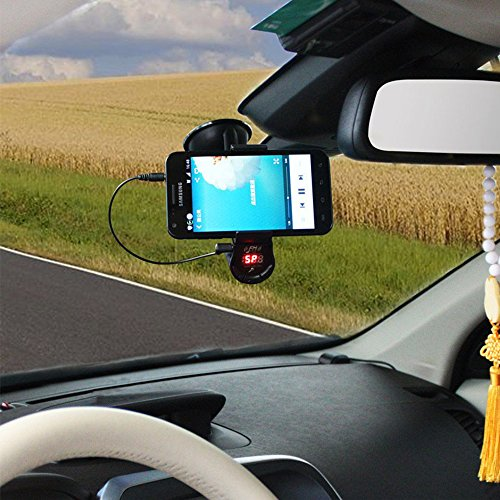 [New Version 360° FM Transmitter With Phone