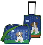 Travelite - Kindertrolly + Reisetasche - Hund Lucky - Youngster - 43x31x18