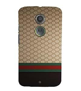 PrintVisa Luxury Brand Pattern 3D Hard Polycarbonate Designer Back Case Cover for Motorola Moto X2