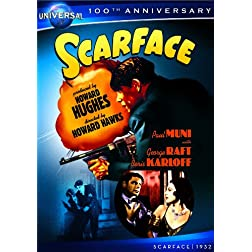 Scarface (1932) [DVD + Digital Copy] (Universal's 100th Anniversary)