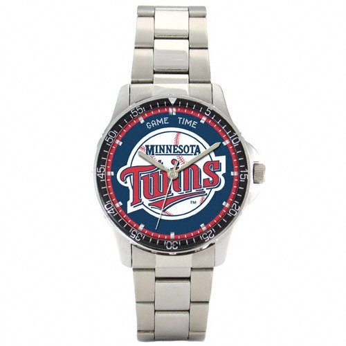 COACH Watches:MLB Men's MC-MIN Minnesota Twins Coach Series Watch Images