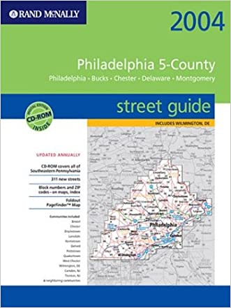 Rand McNally 2004 Philadelphia 5-County Street Guide: Philadelphia, Bucks, Chester, Delaware, Montgomery : Spiral Binding (Rand McNally Street Guides)