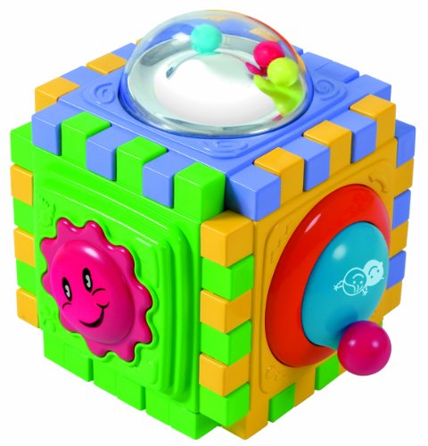 PlayGo 6 Sided Cute Cube - 1