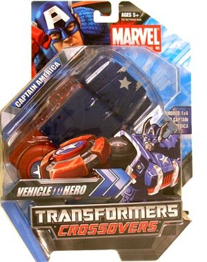 Marvel Transformers Crossovers - Captain America (Transformers Marvel Crossovers compare prices)