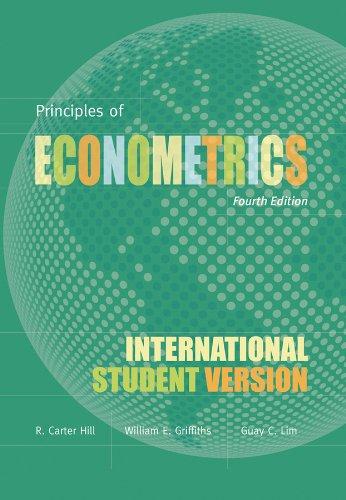 Undergraduate econometrics hill griffiths judge pdf download