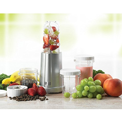 "The Apollo Personal Size Blender (Silver) (12.5""H X 7""W X 10.5""D)"
