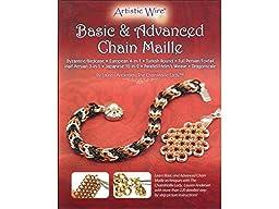 Beadalon (1-Pack) Chain Maille Basic & Advanced Booklet by Lauren Andersen JBKCHML03-1P