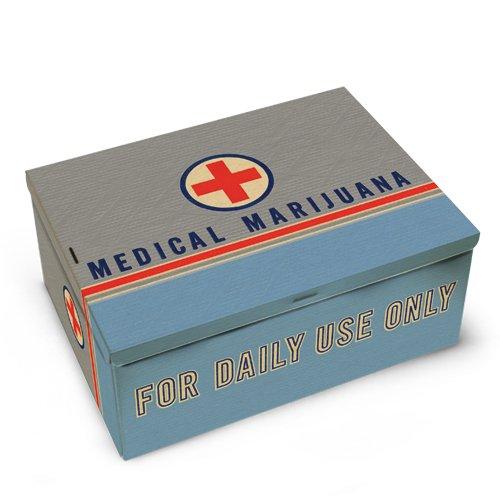 Medical Marijuana Cigar Box