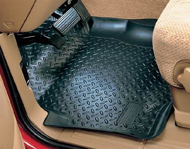 nissan Amazing Husky Liners Classic Style Custom Fit Molded Front Floor Liner for Select Nissan Frontier/Xterra Models (Grey)