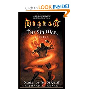 Scales of the Serpent (Diablo: The Sin War, Book 2) (Bk. 2) by Richard A. Knaak