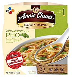 Annie Chun\'s Soup Bowl, Vietnamese Style Pho, 5.9 Ounce (Pack of 6)