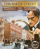 SHERLOCK HOLMES MASTER DETECTIVE GAME - 221b BAKER STREET. BOARD GAME.