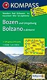 Bozen und Umgebung - Bolzano e dintorni: Wanderkarte mit Radtouren und Skitouren. GPS-genau. 1:25000
