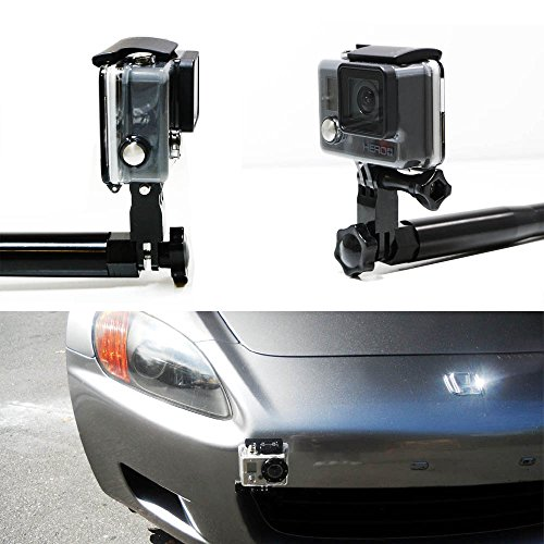 iJDMTOY (1) Bumper Tow Hook Car Mount Bracket Holder For GoPro Camera Fits Honda S2000 FIT Acura TL (Acura Tl Tow Hook Plate compare prices)