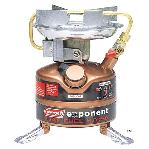 Coleman Exponent Feather 442 Dual Fuel Stove front-36853