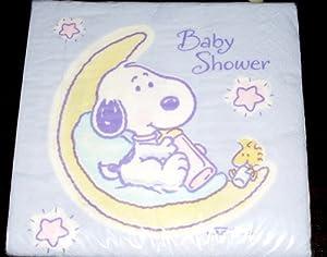 rare hallmark baby snoopy baby shower napkins oop health