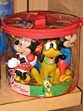Disney Mickey Mouse and Friends Bath Pool Squeak Toys Set