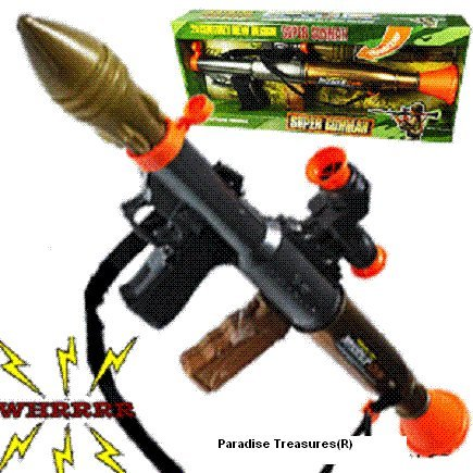 25-toy-missile-launcher-with-lightsmissile-sounds-and-firing-rocket-us-seller