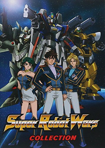 DVD : Super Robot Wars Complete Collection (6 Discos)