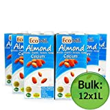 Organic Calcium Enriched Almond Drink (EcoMil) 12x1 Litre