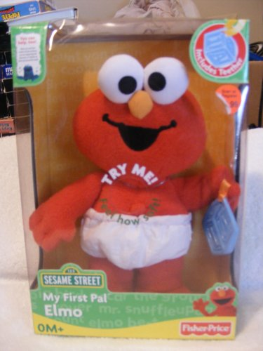 My First Pal Elmo Teether - 1
