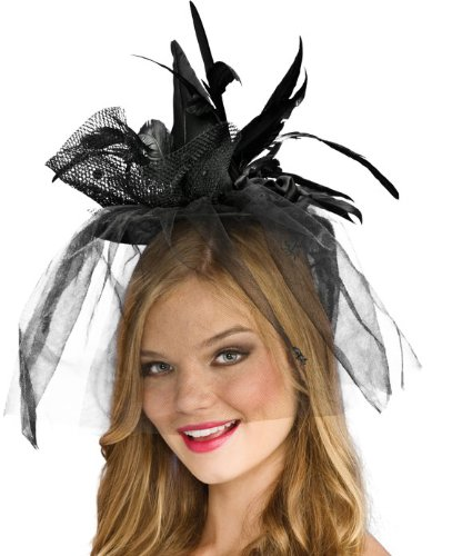 Black Mini Witch Hat Adult - 1