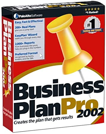 Business Plan Pro 2002