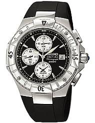 Seiko Men's SNA459 Coutura Alarm Chronograph Watch